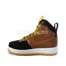 Nike Lunar Force 1 Duckboot [805899-004] NSW Casual Black/Light British Tan-Gold
