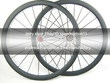 30mm deep clincher road carbon wheel,cycling wheel set 700C tubeless compatible