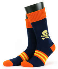 Mens Corgi 100% Mercerised Cotton Skull Socks, Novelty Socks