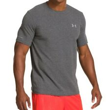 Under Armour Charged Cotton Short Sleeve Tee (Carbon Heather) 1217194-090