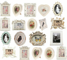 Antique Victorian Rustic Heart Ornate Photo Picture Frame Small Medium Large