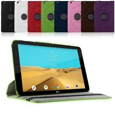 "Rotating 360 Leather Flip Stand Case Cover for For LG G PAD 2 10.1"" V940 Tablet"