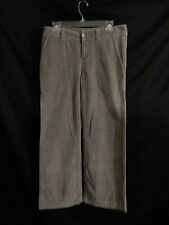 Women's Patagonia Gray Corduroy Pants Size 8; 100% Organic Cotton