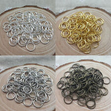 Wholesale 4/5/6/7/8/10/12mm Jump Rings Open Connectors Beads For Jewelry DIY US