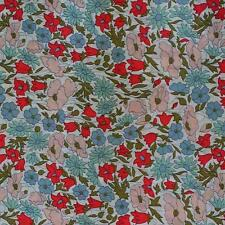 Liberty Tana Lawn - Classic 2015 - POPPY & DAISY A - sold by XL FQ or 25cm