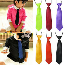 Pleasing Funky School Boys Kids Children Baby Wedding Elastic Tie Necktie