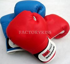 Kids Children Boxing Kick Box Training Punching Sandbag Boxing Gloves WHS