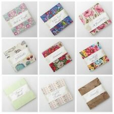 "Charm Pack Collection Fabric Freedom 5"" Square Patchwork Craft Quilting Bundle"
