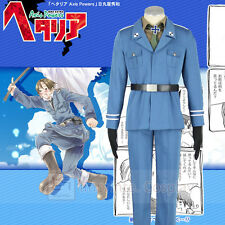 Hetalia Axis Powers Prussia Uniform Cosplay Costume Full Set