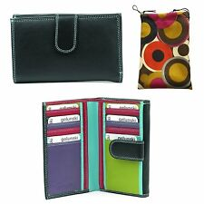 Golunski 3-02 New Leather Multi Coloured Purse In 5 Stunning colours.