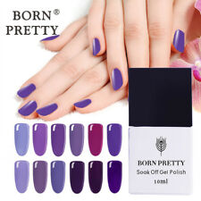 10ml Born Pretty UV Gel Polish Nail Art LED Lamp Manicure Varnish-Purple Series