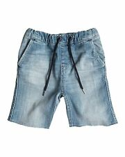 NEW QUIKSILVER™  Boys 2-7 Stanmore Surf Blue Denim Shorts Boys Children