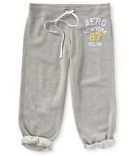 Aeropostale Womens Cinch Capri Athletic Sweatpants