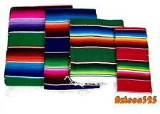 Mexican Sarape Serape Blanket-Assorted Colors and Sizes