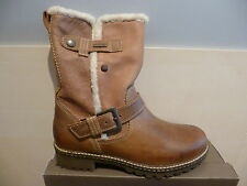 Women's Boots Ankle Boots Winter Boots brown leather lined new