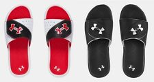 Under Armour Boys Playmaker Slides Under Armour Sandals - Black Size 3