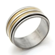 Friendship Stainless Steel Ring No Stone Mens Womens Band Ring Size 7 8 9 10 11