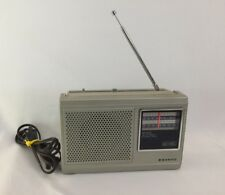 Vintage Sanyo AM/FM 2Band Portable Radio Model RP5230 AC/DC Tested and Works