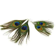 Vintage Peacock Feather Earring Long Drop Dangle Eardrop Girl Jewelry Gift P2L4
