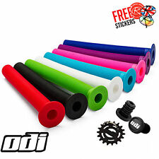 ODI XL Longneck Grips, All Colours Stunt Scooter BMX MTB Mountain Bike