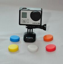 For GoPro Cover Hero 3, 3+,  4  Case Soft Silicone Lens Protective Cap Case