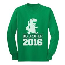 Gift for Big Brother 2016 T-Rex Boy Long sleeve kids T-Shirt Cool