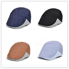 Men 80% Cotton Flat Cabbie Newsboy Gatsby Hat Beret Cap Ivy Golf Hat New