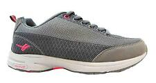 Gola Verde 2 Women's Grey Lace Up Non-marking Sole Toning Fitness Trainers New