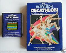 DECATHLON for Atari 2600 - with box