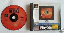 SOVIET STRIKE for Playstation 1 PS1 -  PAL