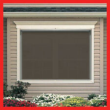 NEW! 240 Width x 210 Drop Outdoor Roller Blind PVC Screen Verandah Blinds