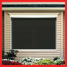 NEW! 210 Width x 210 Drop Outdoor Roller Blind PVC Screen Verandah Blinds