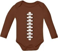 Football Outfit Unisex Bodysuit Sports Baby Grow Vest Baby Long Sleeve Onesie