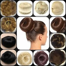 Bun Hairpiece Extension Neat Black Bun Plaited Dome Bun Ballet Bun