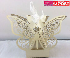 80pcs Wedding Candy Box Paper Favor Box Couple Heart Butterfly Love Bird YWOZ