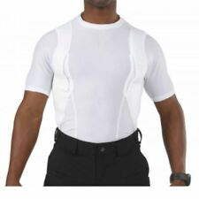 5.11 Tactical Short Sleeve Crew Holster Shirt (White) 40011-010 Concealed Carry