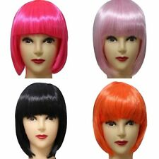 New BOB Style Women's Sexy Full Bangs Wigs Short Wig Straight Hair Cosplay Party