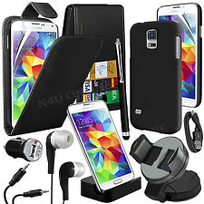 25.4cm 1 Bundle Kit Accessory Case Car Holder Charger For Samsung Galaxy S5