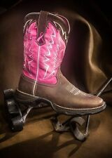 NIB DURANGO LADY REBEL BREAST CANCER PINK BOOT RD3557 SUPER COMFORTABLE FROM GO!