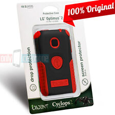 New Trident Cyclops Rugged Hybrid Case Cover for LG Optimus 2 AS680 NET L45C