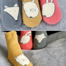Cartoon Infant Kids Baby Toddler Girl Boy Socks Slipper Leg Warmers Soft Tights