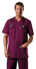 Cherokee Tall Short Sleeve V Neck Chest Pocket Medical Nursing Scrub Top. 4701