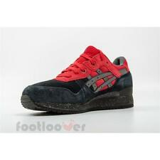 Shoes Asics Gel Lyte III  h60qk 9023 man running Black Red Limited Edition