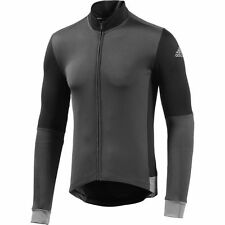 adidas Supernova Frigus Long Sleeve Jersey - Grey/Black - Cycling - Clothing