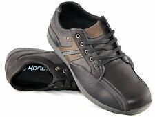Mens Smart Comfort Leisure Walking Hiking Trail Lace Up Casual Shoes Size 6-11