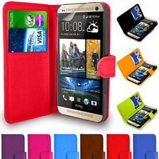 Magnetic Leather Flip Wallet Book Case Cover For iPhone Xperia Samsung Phones UK