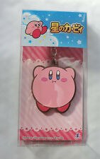 Nintendo Kirby Large Rubber Charm Rare Product plumped