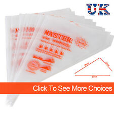 Pastry Piping Icing Disposable Bags Cup Cake Baking Decorating Tool CLEARANCE UK
