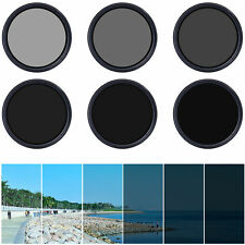 Slim Fader Variable ND Filter Neutral Density Adjustable ND2 to ND400 52/58/67mm