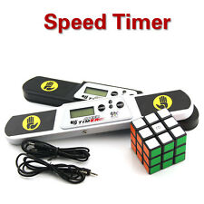3rd Magic puzzle cube Timer Clock stack Speed Machine Count Down Up temporizador